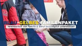 Das blau-gelbe Familienpaket